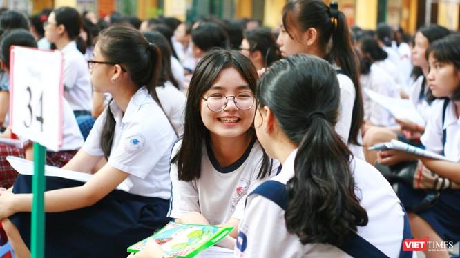 Thí sinh dự thi tuyển sinh vào lớp 10 tại TP.HCM