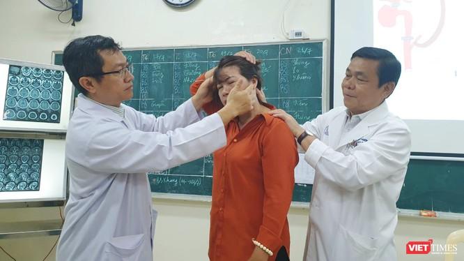 Bệnh nhân được cứu sống với phương pháp phẫu thuật bắc cầu động mạch não trong và ngoài sọ áp lực cao