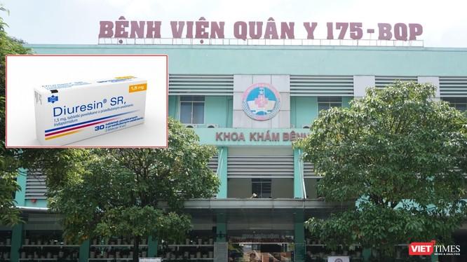 Thực hư sự việc Bệnh viện Quân y 175 cấp thuốc bị đình chỉ lưu hành cho bệnh nhân