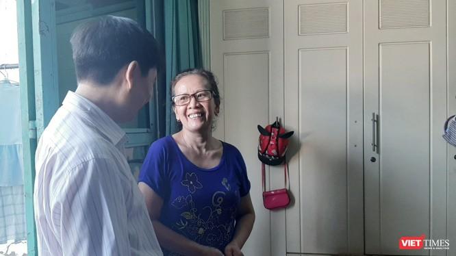 Niềm hạnh phúc được giải oan của gia đình hiến tạng cứu người. Ảnh: Nguyễn Trăm