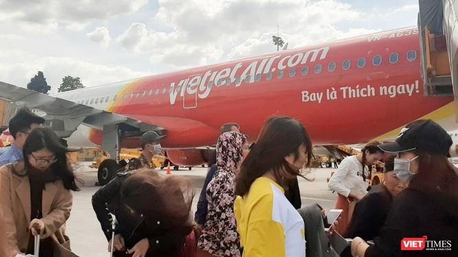 Hãng hàng không Vietjet Air dự kiến tạm dừng khai thác đường bay Daegu - Đà Nẵng từ ngày 25/2 - 28/3. Ảnh: NT