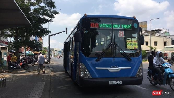 TP. HCM dừng hoạt động xe buýt công cộng 15 ngày, kể từ 1/4. Ảnh: H.L
