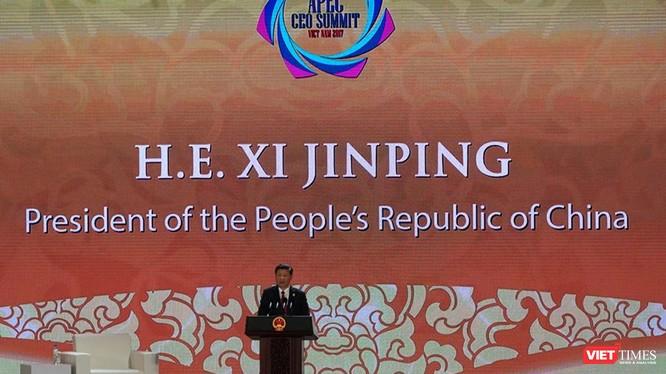Chủ tịch Tập Cận Bình phát biểu tại Hội nghị thượng đỉnh Lãnh đạo doanh nghiệp (CEO Summit) 2017