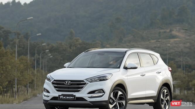 Hyundai Tucson 2017. Ảnh: Nguyên Minh
