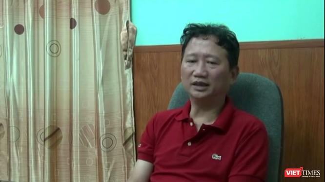 Ông Trịnh Xuân Thanh tự thú trên đài Truyền hình Việt Nam (VTV 1).