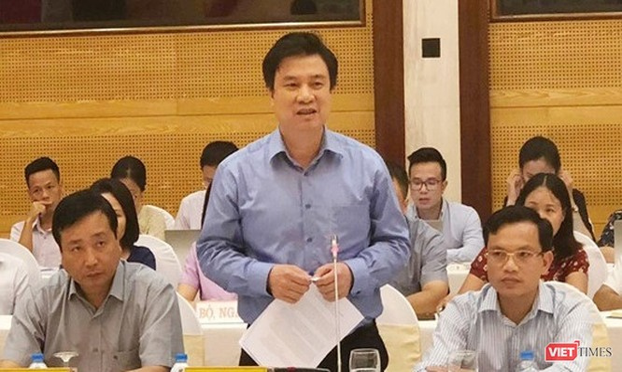 Thứ trưởng Bộ GDĐT Nguyễn Hữu Độ