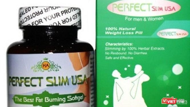 Một loại sản phẩm giảm cân có Sibutramine bị cấm sử dụng