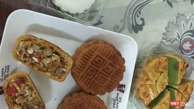 Một loại bánh Trung thu không đảm bảo chất lượng.