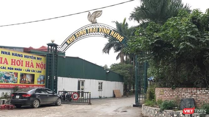 Một khu đất đối ứng cho dự án tuyến đường Minh Khai - Vĩnh Tuy - Yên Duyên.