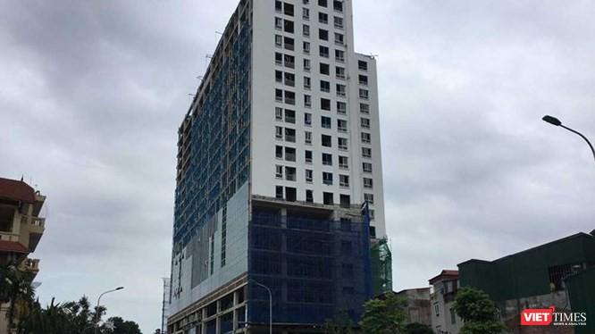 Muốn cưỡng chế sai phạm phải phá dỡ toàn bộ tòa nhà.