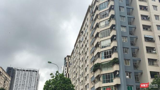 Hàng loạt vi phạm về quản lý, sử dụng chung cư được phát hiện tại Hà Nội.