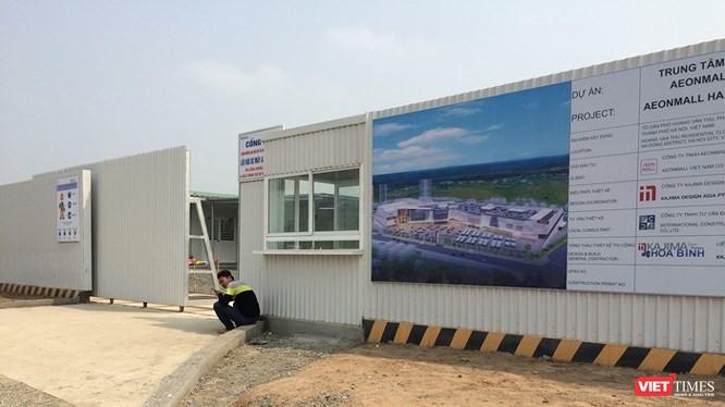 Vừa qua, Tập đoàn AEON (Nhật Bản) đã động thổ dự án Trung tâm thương mại tại quận Hà Đông.