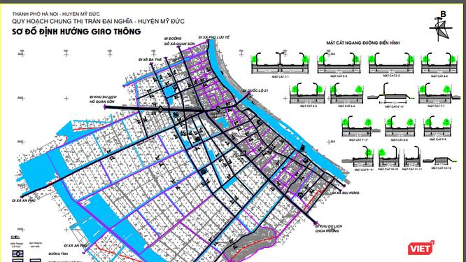Quy mô dân số dự báo tối đa của thị trấn Đại Nghĩa đến năm 2030 khoảng 12.000 người.