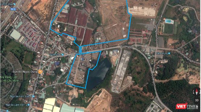 Dự án Khu nhà ở phường Long Bình, Quận 9 có quy mô diện tích 16,4ha.