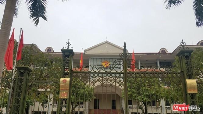 Trụ sở UBND TP Phủ Lý, tỉnh Hà Nam.