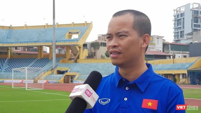 Nhà báo Minh Hải (Ảnh: Việt Anh)