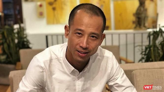 Cựu trung vệ Vũ Như Thành. Ảnh: NVCC