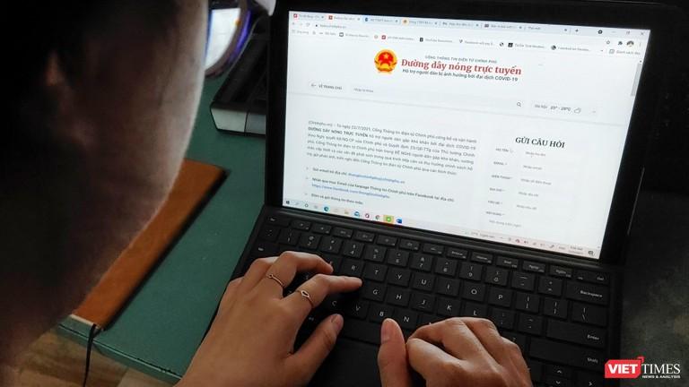 Người dân phản ánh, kiến nghị đến Chính phủ qua đường dây nóng trực tuyến