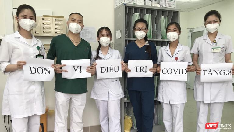 """Nữ bác sĩ từ tâm dịch COVID-19 ở BV Bệnh Nhiệt đới TW: """"Tôi cảm thấy rất an toàn và luôn lạc quan"""""""