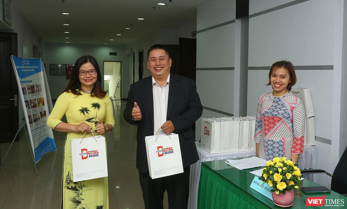 Chùm ảnh Lễ phát động Giải thưởng Chuyển đổi số Việt Nam năm 2021 tại Đà Nẵng ảnh 4