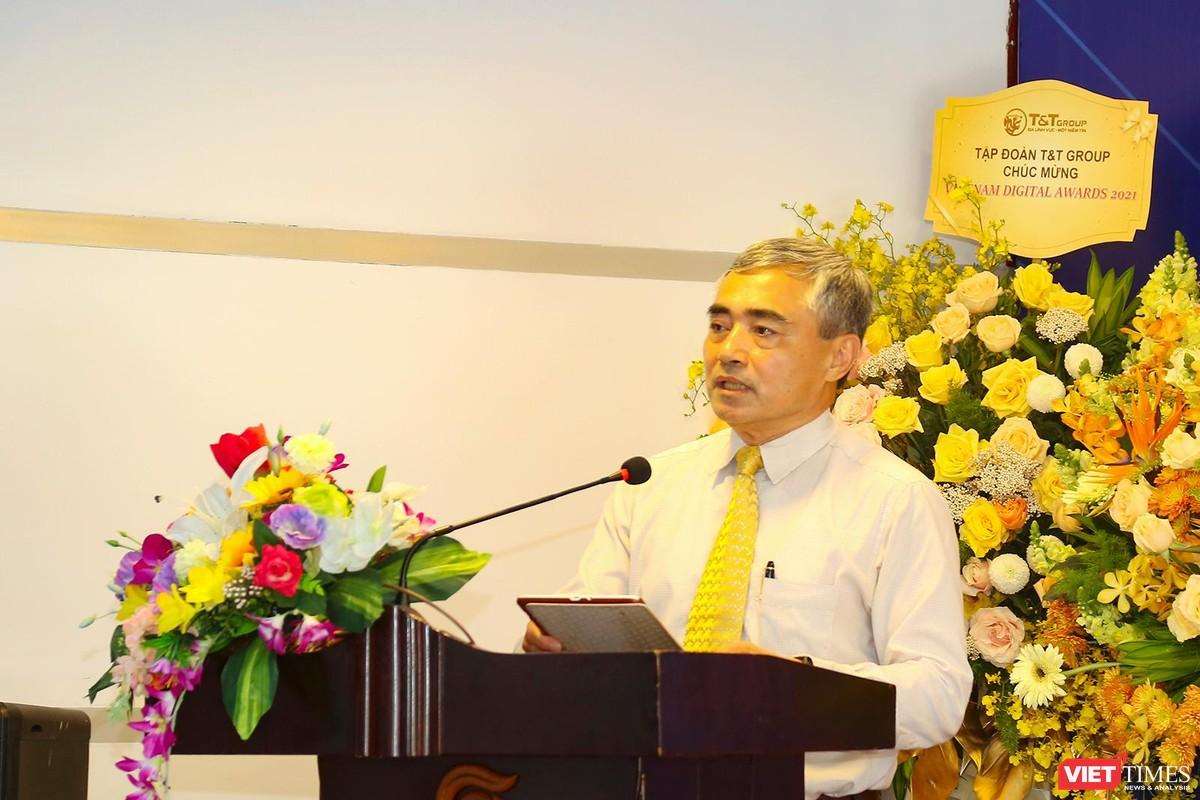 Chùm ảnh Lễ phát động Giải thưởng Chuyển đổi số Việt Nam năm 2021 tại Đà Nẵng ảnh 14