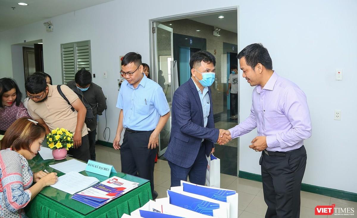 Chùm ảnh Lễ phát động Giải thưởng Chuyển đổi số Việt Nam năm 2021 tại Đà Nẵng ảnh 5
