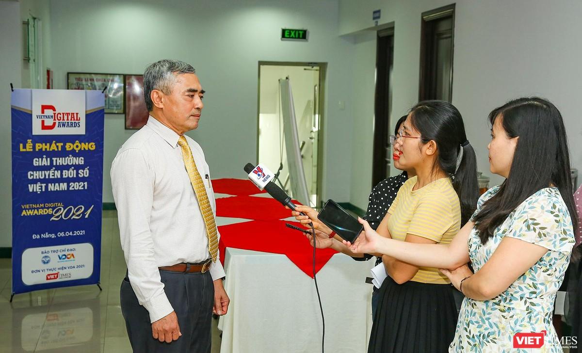 Chùm ảnh Lễ phát động Giải thưởng Chuyển đổi số Việt Nam năm 2021 tại Đà Nẵng ảnh 18