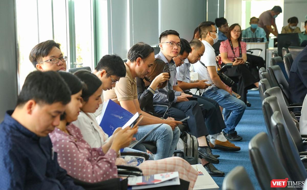 Chùm ảnh Lễ phát động Giải thưởng Chuyển đổi số Việt Nam năm 2021 tại Đà Nẵng ảnh 27