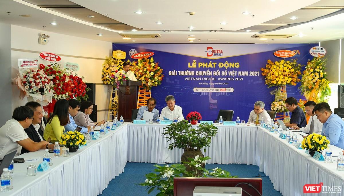 Chùm ảnh Lễ phát động Giải thưởng Chuyển đổi số Việt Nam năm 2021 tại Đà Nẵng ảnh 11