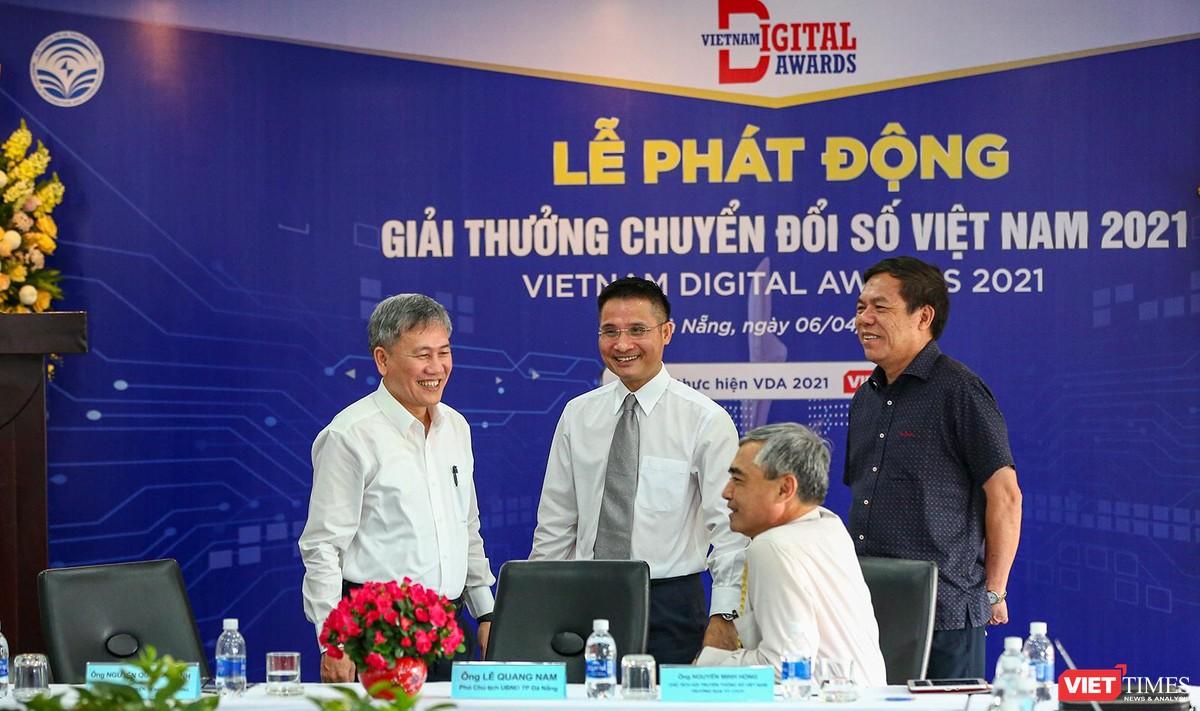 Chùm ảnh Lễ phát động Giải thưởng Chuyển đổi số Việt Nam năm 2021 tại Đà Nẵng ảnh 33