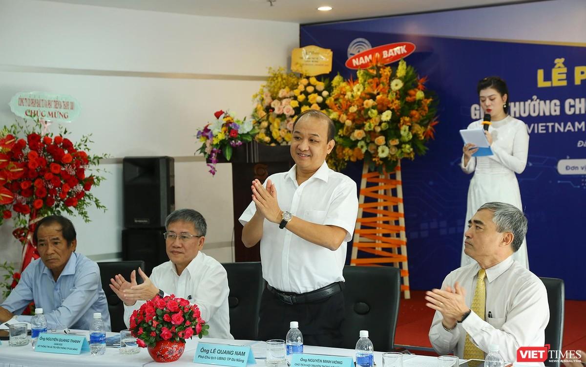 Chùm ảnh Lễ phát động Giải thưởng Chuyển đổi số Việt Nam năm 2021 tại Đà Nẵng ảnh 7