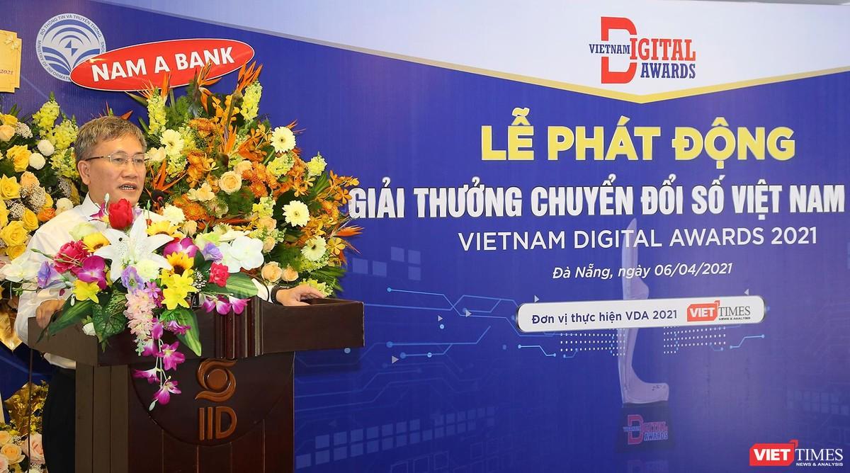 Chùm ảnh Lễ phát động Giải thưởng Chuyển đổi số Việt Nam năm 2021 tại Đà Nẵng ảnh 16