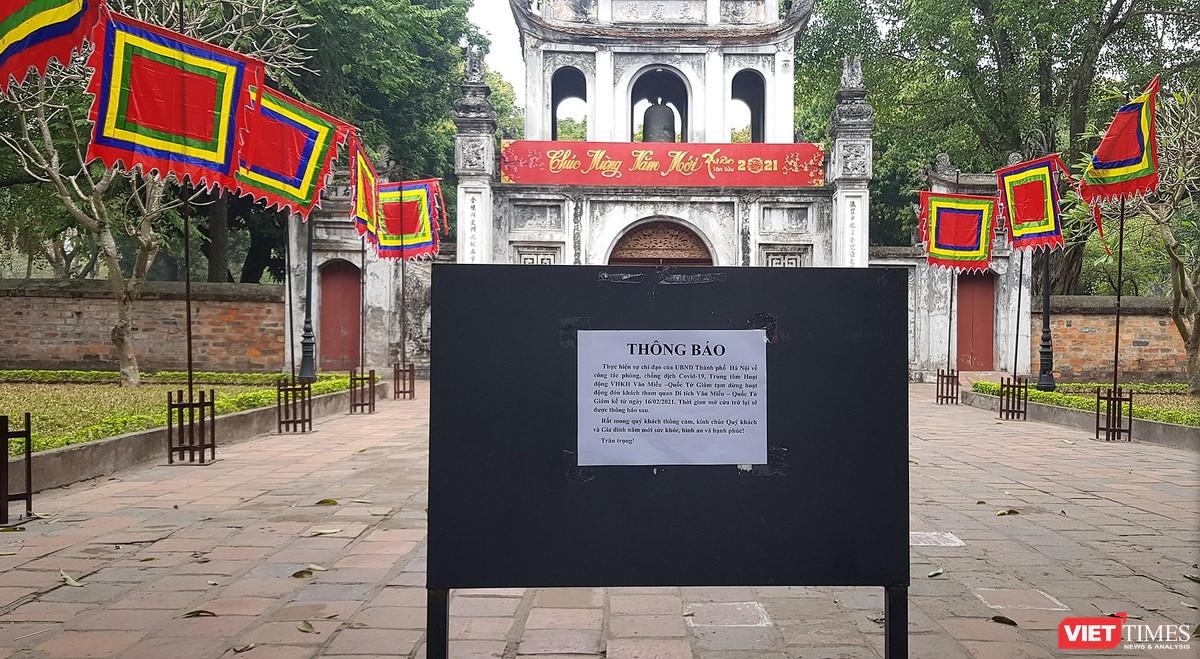 Hình ảnh đền chùa và quán xá Hà Nội chiều mùng 5 Tết ảnh 10