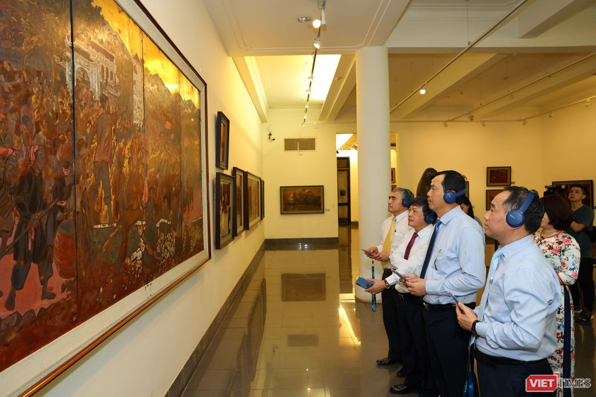 Chùm ảnh sự kiện ra mắt ứng dụng iMuseum VFA ảnh 21