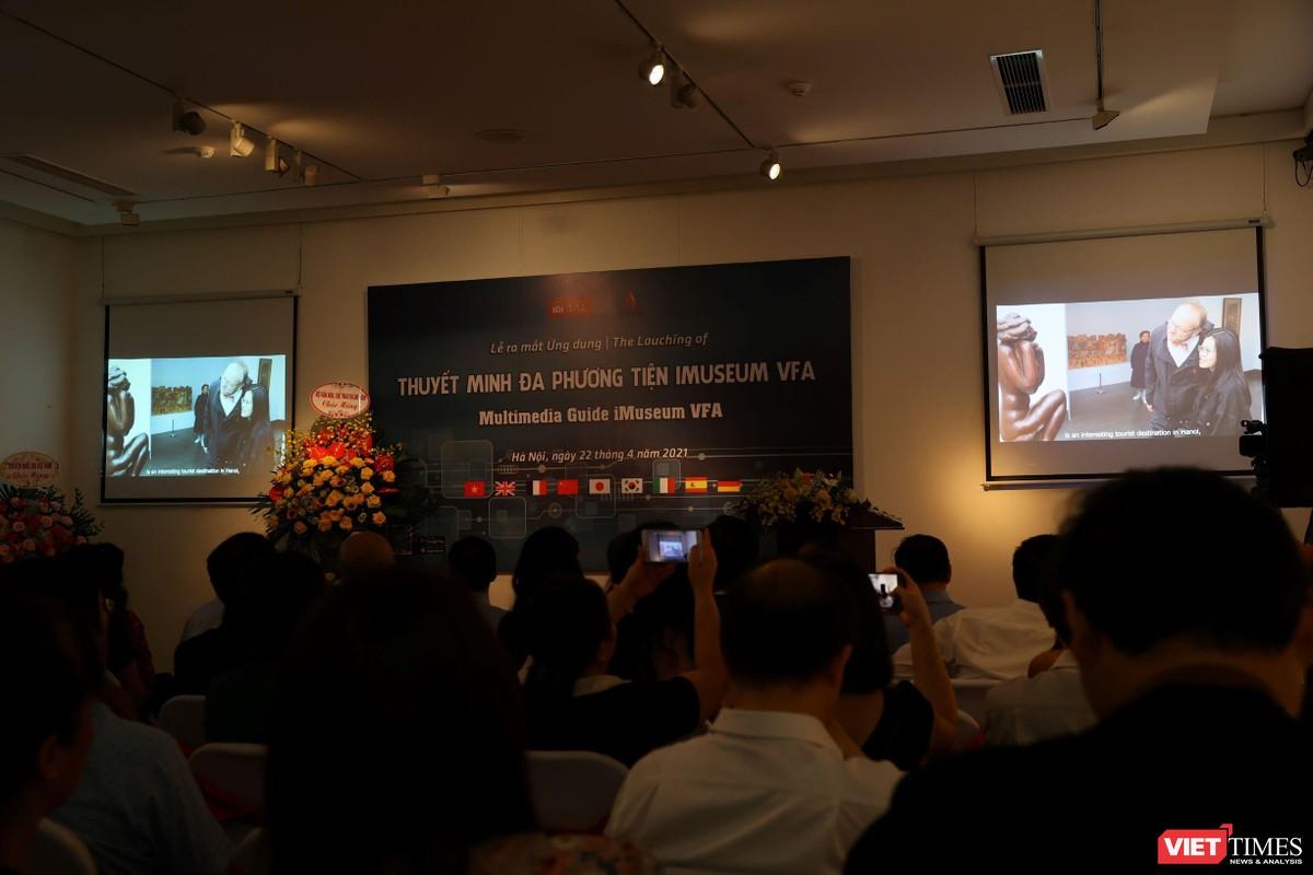 Chùm ảnh sự kiện ra mắt ứng dụng iMuseum VFA ảnh 5