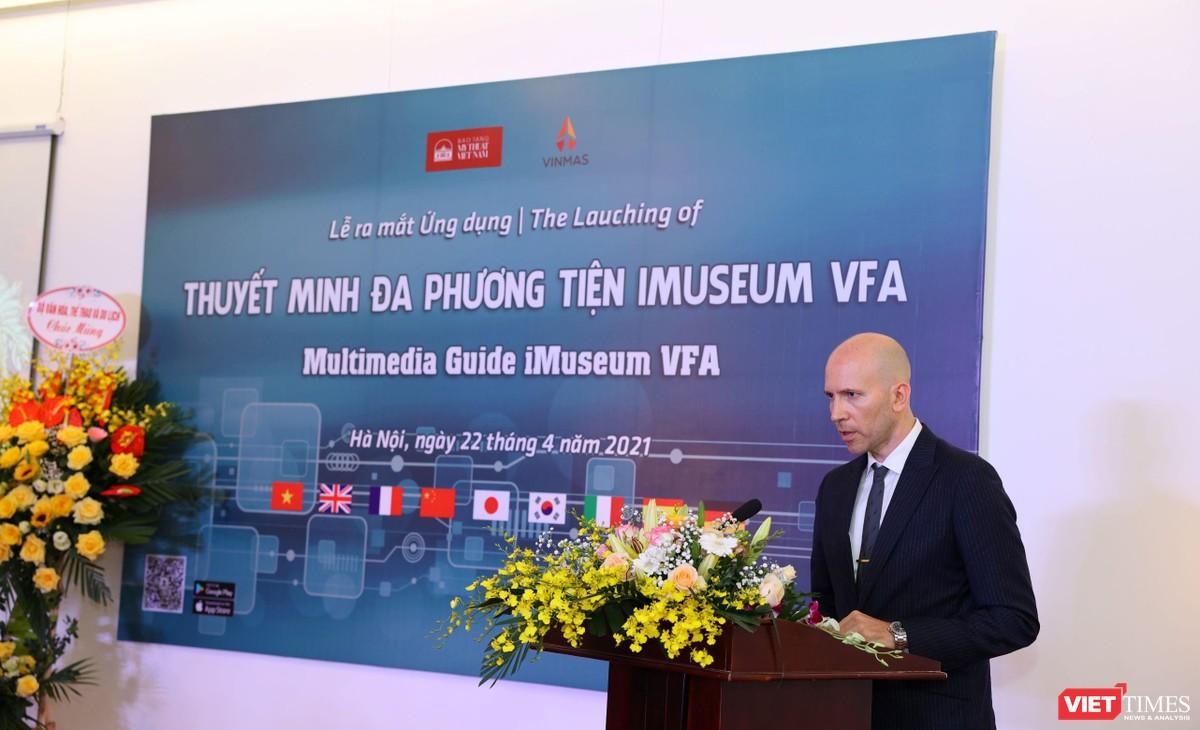Chùm ảnh sự kiện ra mắt ứng dụng iMuseum VFA ảnh 10