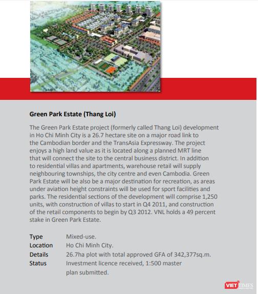 """""""Định vị"""" Green Park Estate – dự án có tỷ trọng lớn nhất trong danh mục của VinaLand ảnh 3"""