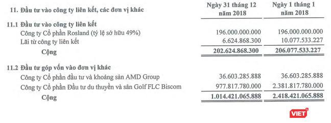 FLC Faros ghi nhận giảm giá trị đầu tư vào FLC Biscom (Nguồn: FLC Faros)
