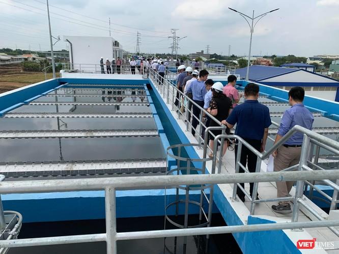 Khánh thành nhà máy nước sạch lớn nhất Đồng bằng Sông Cửu Long ảnh 1
