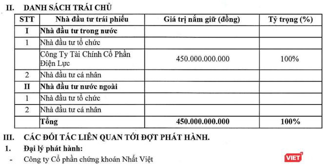 Những mối liên hệ thú vị đằng sau thương vụ trái phiếu 450 tỷ đồng mà EVNFC vừa mua ảnh 2