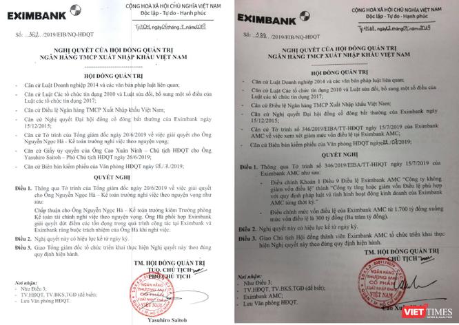 """Ông Cao Xuân Ninh """"tái xuất"""" trên ghế Chủ tịch Eximbank ảnh 1"""