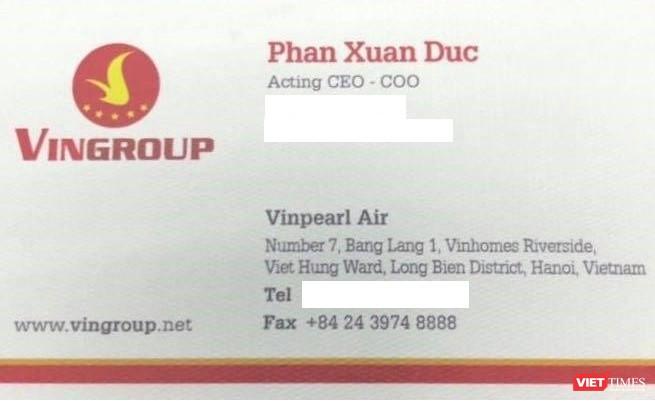 Tổng Giám đốc Vinpearl Air Phan Xuân Đức là ai? ảnh 2