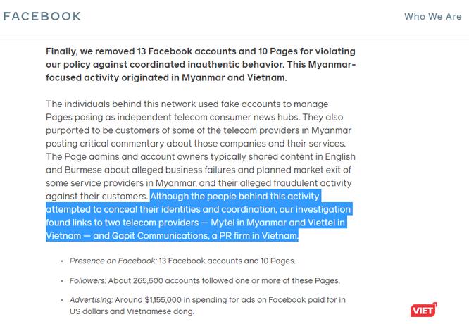 Chân dung Gapit Communications - công ty truyền thông bị Facebook chỉ đích danh trong cáo buộc Viettel ảnh 2