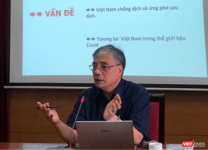 """Ts. Trần Đình Thiên: Dịch Covid-19 là cơ hội để """"thay máu"""" nền kinh tế ảnh 1"""