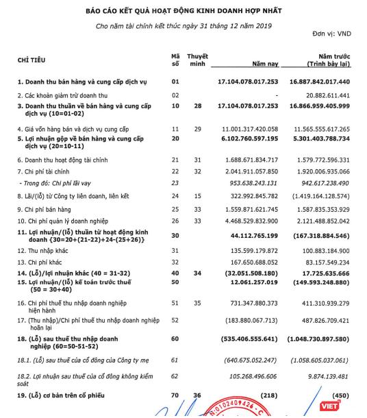 Viettel Global báo lãi trước thuế 12 tỷ đồng năm 2019 ảnh 1
