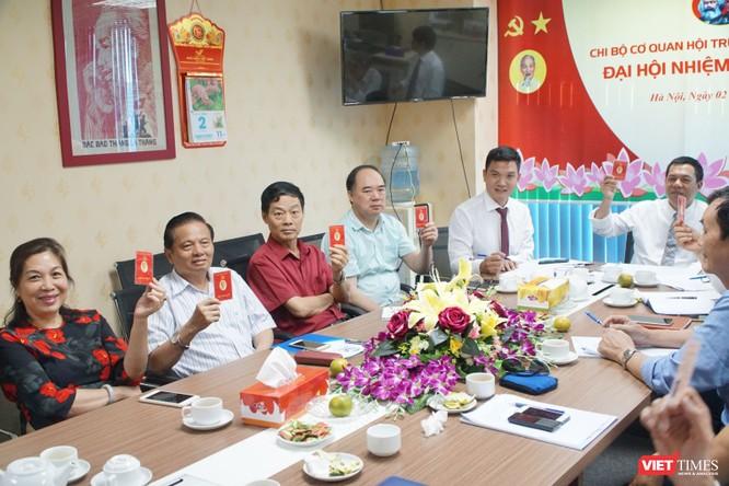 Đồng chí Lê Đức Sảo tái đắc cử Bí thư Chi bộ Cơ quan Hội Truyền thông số Việt Nam ảnh 1