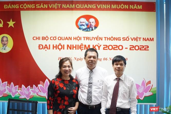 Đồng chí Lê Đức Sảo tái đắc cử Bí thư Chi bộ Cơ quan Hội Truyền thông số Việt Nam ảnh 3