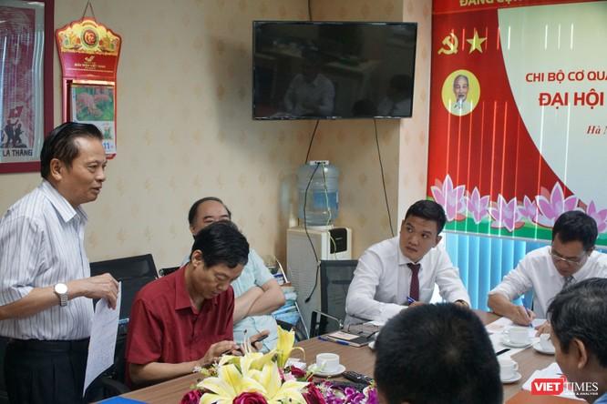 Đồng chí Lê Đức Sảo tái đắc cử Bí thư Chi bộ Cơ quan Hội Truyền thông số Việt Nam ảnh 2