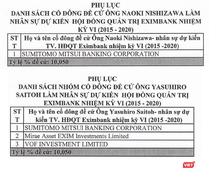 Đừng nhầm, tân Chủ tịch Eximbank Yasuhiro Saitoh không phải là đại diện của SMBC! ảnh 2