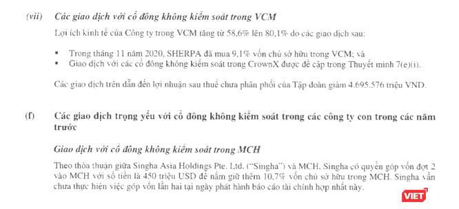 """Masan """"hi sinh"""" 22.000 tỉ lợi nhuận mua cổ phần The CrownX ảnh 3"""